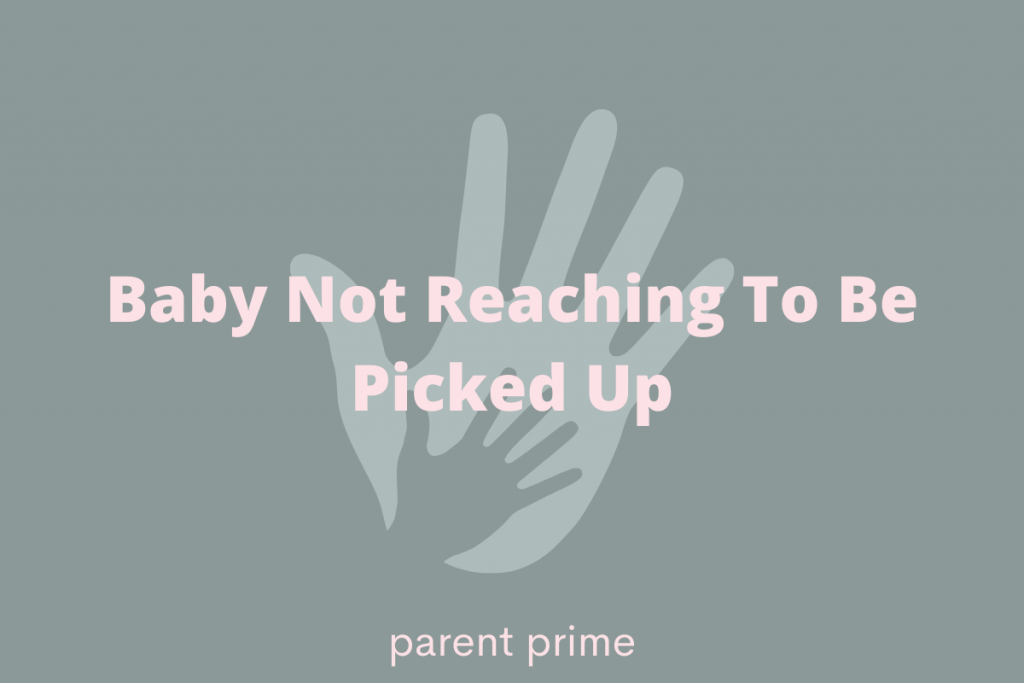 Do autistic babies reach to be picked up