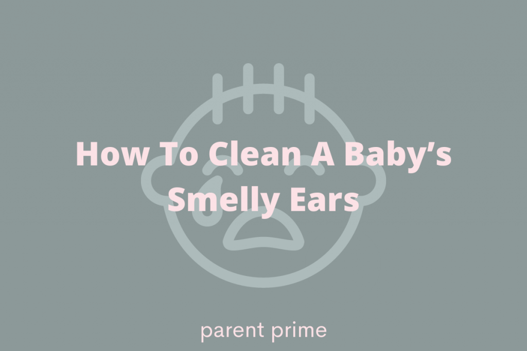 babies ear smells like vinegar