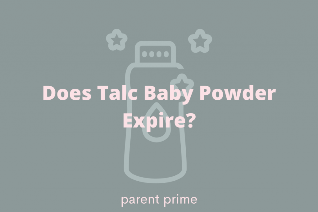 does talc baby powder expire