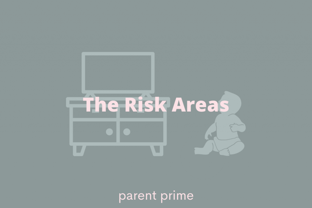 how to baby proof tv stand
